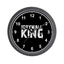 The Drywall King SQ Wall Clock