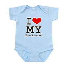 I love my grandparents Infant Bodysuit