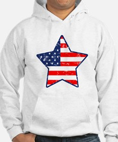 Patriotic Star Jumper Hoody