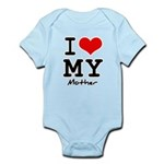 I love my mother Infant Bodysuit