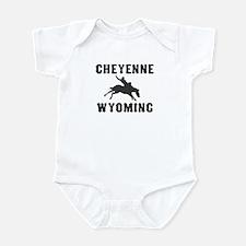 Cheyenne Wyoming Onesie