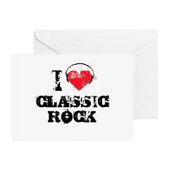 I love classic rock Greeting Card