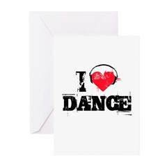 I love dance Greeting Cards (Pk of 20)