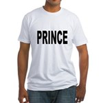 Prince (Front) Fitted T-Shirt