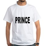 Prince (Front) White T-Shirt