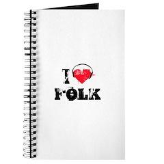 I love folk Journal