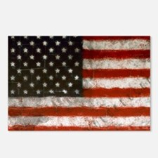 American Flag Portrait Postcards (Package of 8)