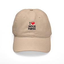 I love indie rock Baseball Cap