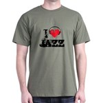 I love jazz Dark T-Shirt