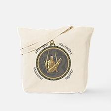 Men's Rings: Four Attributes Tote Bag