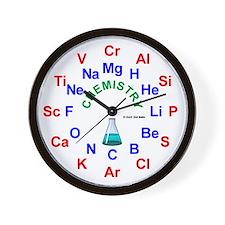 Chemistry Clock Wall Clock