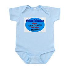 Funny House warming Infant Bodysuit