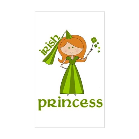 irish princess Rectangle Sticker
