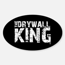 The Drywall King SQ Oval Decal