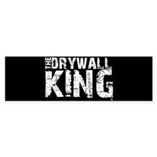 The Drywall King SQ Bumper Bumper Sticker