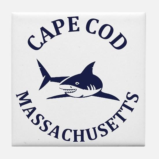 Cute Cape cod Tile Coaster