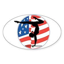 U.S.A Gymnastics Oval Decal