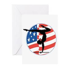 U.S.A Gymnastics Greeting Cards (Pk of 20)