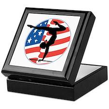 U.S.A Gymnastics Keepsake Box