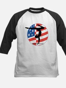 U.S.A Gymnastics Kids Baseball Jersey