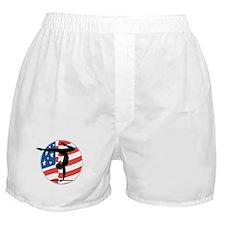 U.S.A Gymnastics Boxer Shorts