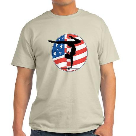 U.S.A Gymnastics Light T-Shirt