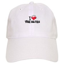 I love the blues Baseball Cap
