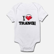 I love trance Infant Bodysuit