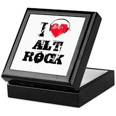 I love alt rock Keepsake Box
