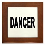 Dancer Framed Tile