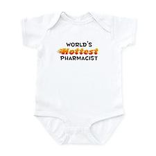 World's Hottest Pharm.. (B) Infant Bodysuit