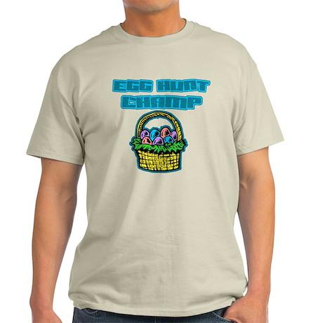 Egg Hunt Champ Light T-Shirt