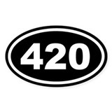 420 Bumper Stickers