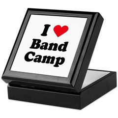 I love band camp Keepsake Box