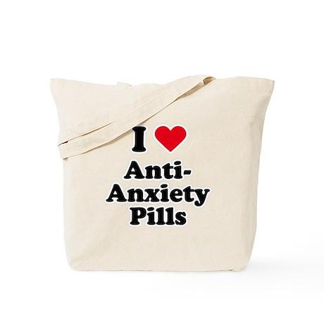 I love anti-anxiety pills Tote Bag