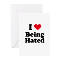 I love being hated Greeting Cards (Pk of 20)