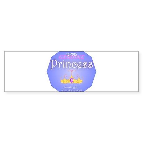 Genuine Princess Bumper Sticker