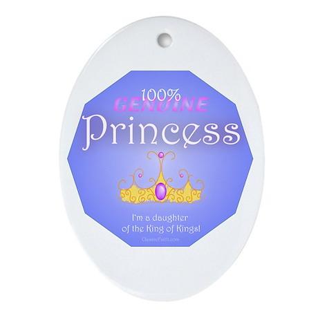 Genuine Princess Oval Ornament