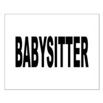 Babysitter Small Poster