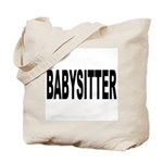 Babysitter Tote Bag