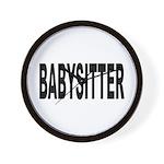 Babysitter Wall Clock