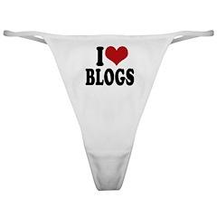 I love blogs Classic Thong