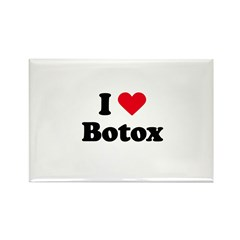 I love botox Rectangle Magnet (10 pack)