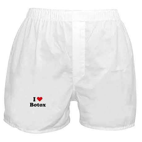 I love botox Boxer Shorts