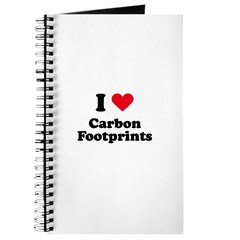 I love carbon footprints Journal