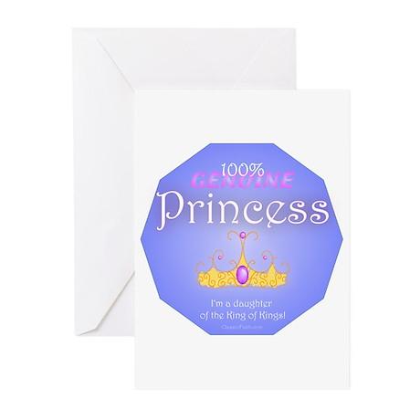 Genuine Princess Greeting Cards (Pk of 10)
