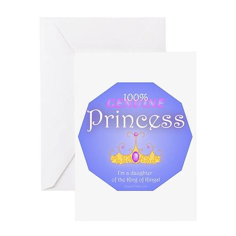 Genuine Princess Greeting Card
