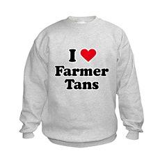 I love farmer tans Sweatshirt
