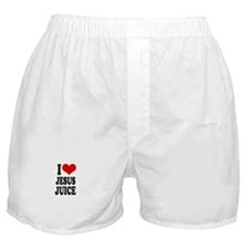 I love jesus juice Boxer Shorts