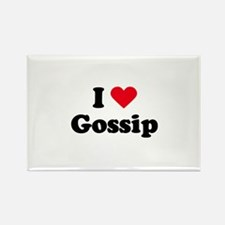 I love gossip Rectangle Magnet